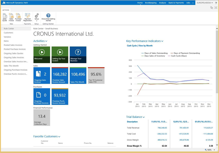 dynamics nav 2015 User Experience enhancements Making