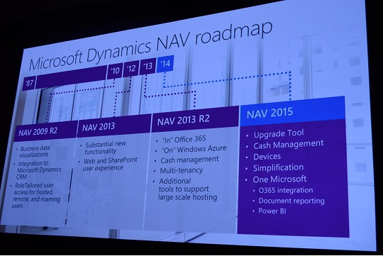 microsoft dynamics nav 2015 office 365