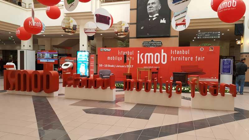 İSMOB – İstanbul Mobilya Fuarı 2017