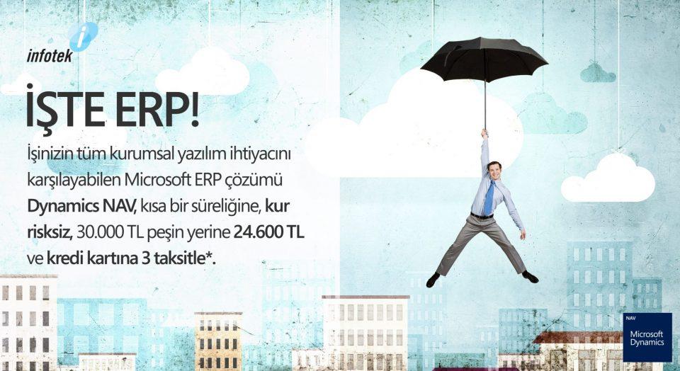 Dynamics NAV ERP Kampanyası